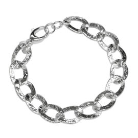 Vicenza Collection Sterling Silver Link Chain (Size 20), Silver wt 38.80 Gms.