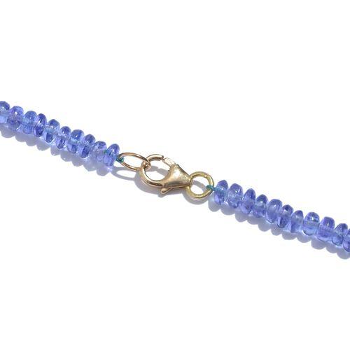 ILIANA 18K Y Gold Tanzanite (Rnd) Necklace (Size 18) 72.680 Ct.