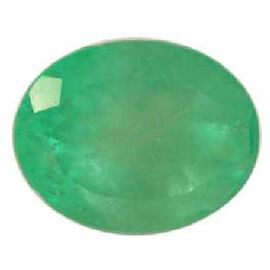 Emerald (Oval 7x5 mm Faceted 4A) 0.750 Ct.