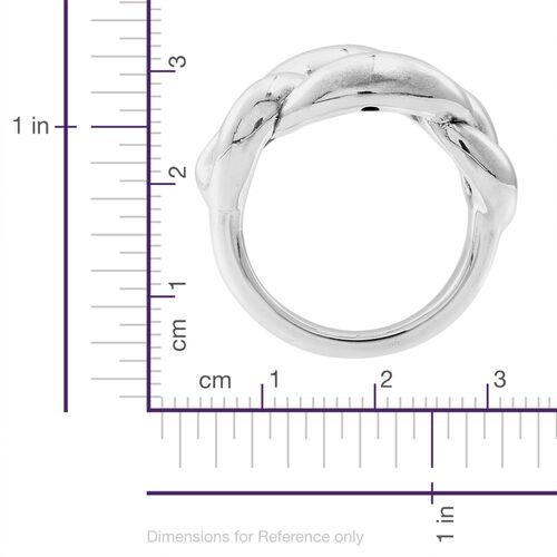Designer Inspired Sterling Silver Ring, Silver wt 5.80 Gms.