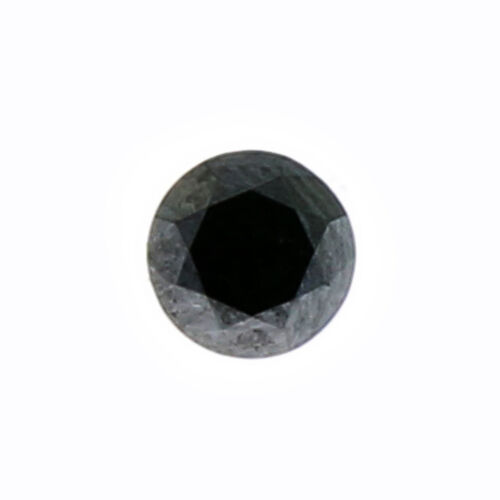 Black Diamond (Rnd 5 mm Faceted ) 0.50 Ct.