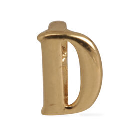 Royal Bali Collection 9K Y Gold Initial D Pendant