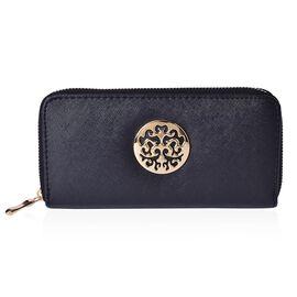 Arbra Classic Black Colour Wallet (Size 19.5x9.5x3 Cm)