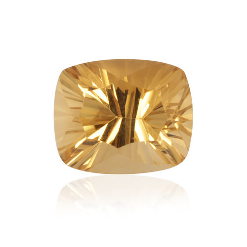 Gold Quartz (Cush 12x10 mm Concave 2A) 4.270 Ct.