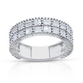 9K W Gold SGL Certified Diamond (Bgt) (I3/G-H) Ring 1.000 Ct.