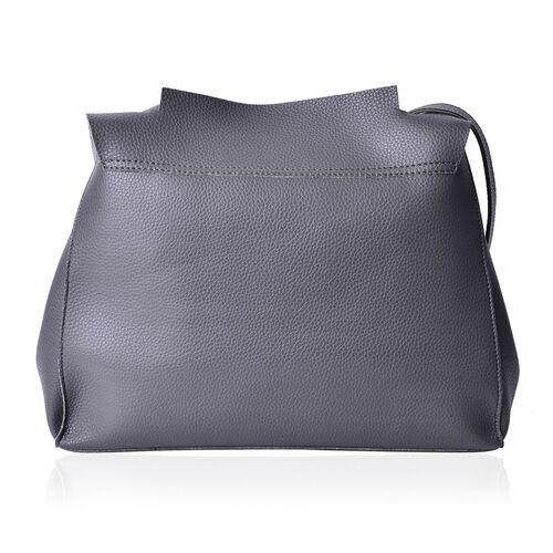 Marley Carryall Dark Grey Colour Shoulder Bag with Adjustable Strap (Size 37x31x14 Cm)