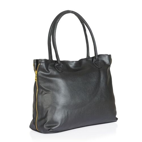 Black Colour Hand Bag (Size 40x30x13 Cm)