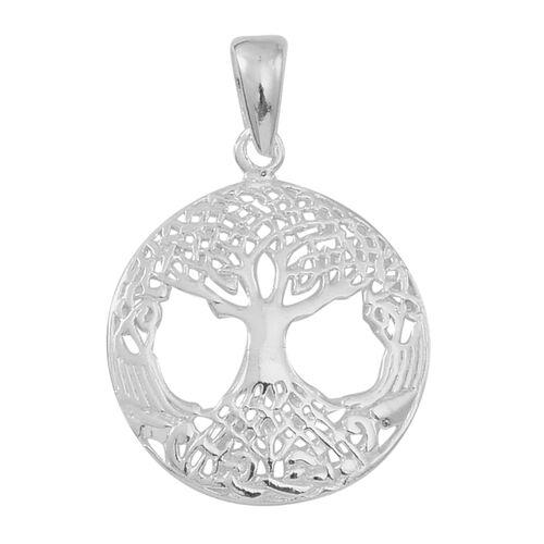 Designer Inspired Sterling Silver Tree of Life Pendant