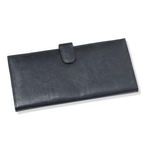 Close Out Deal Black Colour Genuine Leather Ladies Purse