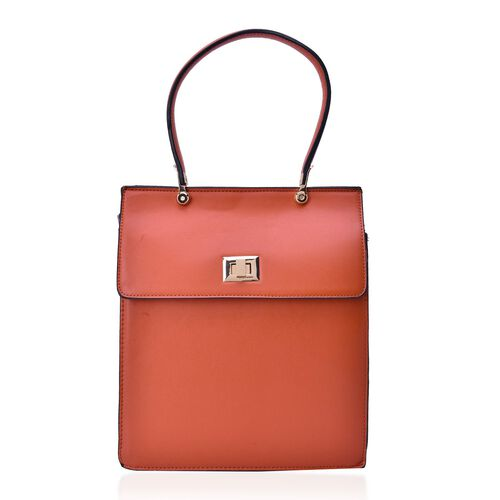 Alderley Tan Colour Grab Bag (Size 30x26x12 Cm)