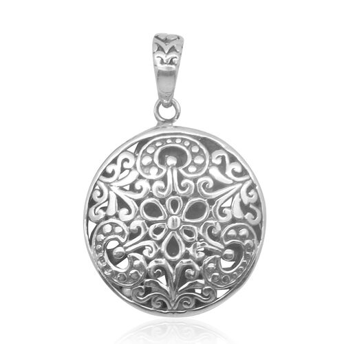 Royal Bali Collection Sterling Silver Pendant, Silver wt 4.25 Gms.