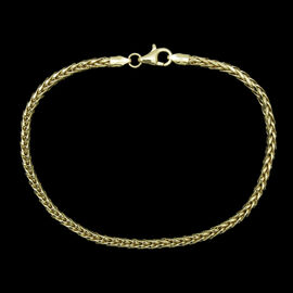Royal Bali Collection ILIANA 18K Y Gold Tulang Naga Bracelet (Size 7.5), Gold wt 3.00 Gms.