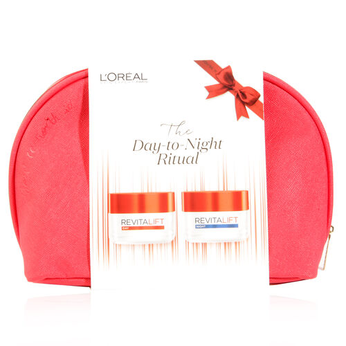 LOreal Paris Revitalift Essential Day to Night   Discover our two step signature Revitalift skincare regime, with anti-wrinkle and extra firming action.