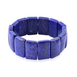 Lapis Lazuli Bracelet (Size 7.5) 400.000 Ct.