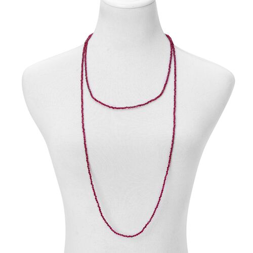 Red Agate Necklace (Size 60) 94.000 Ct.