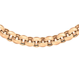 Close Out Deal 9K R Gold Belcher Chain (Size 18) 18.00 Gms.