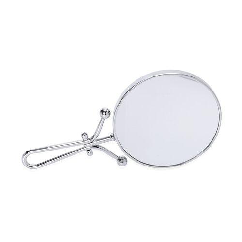 (Option 1) Double Mirror Silver Colour (Size 15 Cm) 3 x mag