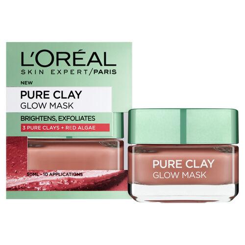 LOreal Paris Pure Clay Glow Mask 50ml