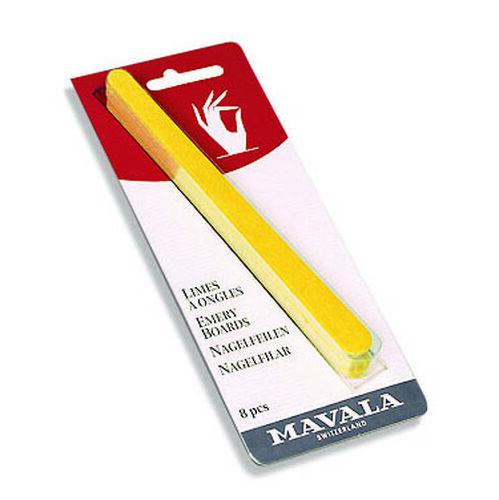 MAVALA - Treatment Set back to Natural- 2ml Scientifique, 5ml Nail Shield, 5ml Mavaderma, 5ml Top Coat and 8pc Emery Boards