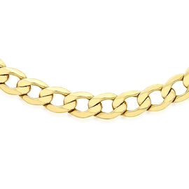Italian 9K Y Gold Curb Chain (Size 16), Gold Wt 5.90 Gms.