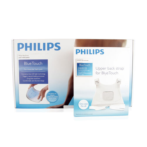 (Option 2) PHILIPS-Blue Touch Patch PH309200 With Free Upper Back Strap