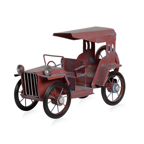 Home Decor - Red Colour Handmade Long Vintage Car
