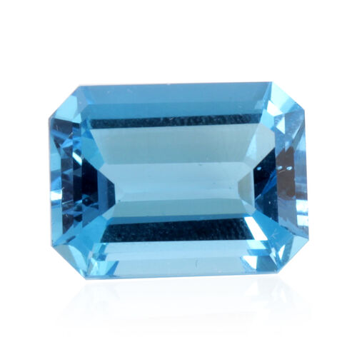 Electric Blue Topaz Octagon 16x12 Faceted 4A 14.000 Cts.