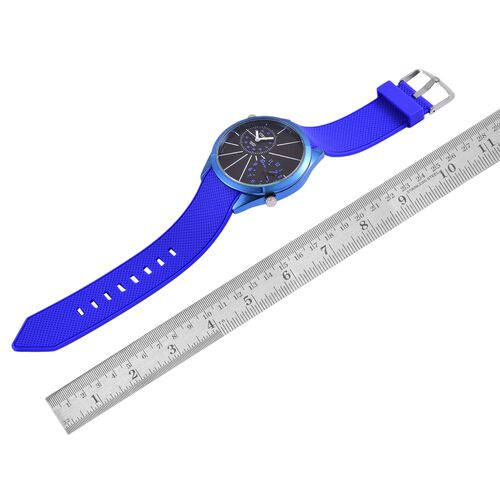 STRADA Dual Time Watch - Blue