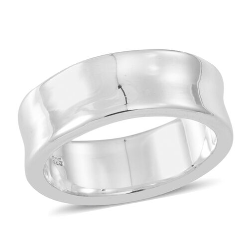 Thai Sterling Silver Band Ring, Silver wt 3.25 Gms.
