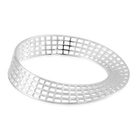 RACHEL GALLEY Sterling Silver Bangle (Size 8), Silver wt 31.00 Gms.