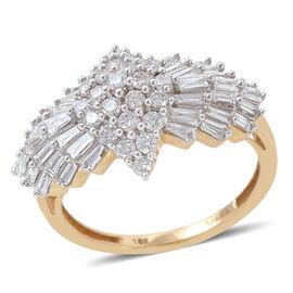 ILIANA 18K Y Gold IGI Certified Diamond (Rnd) (SI/G-H) Ring 1.000 Ct.