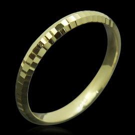 JCK Vegas Collection Diamond Cut 9K Y Gold Ring