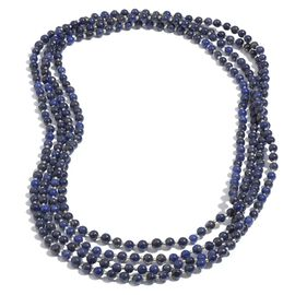 Lapis Lazuli (Rnd) Beads Necklace (Size 100) 325.00 Ct.