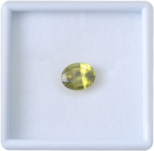 Sava Sphene (Ovl 11x9 mm Faceted 3A) 4.620 Ct.