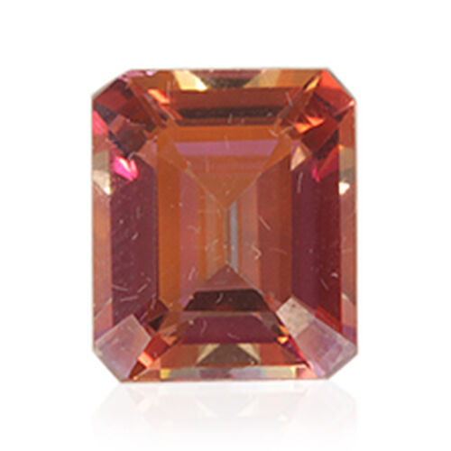 (Option 1) Northern Lights Ecstacy Topaz (Oct 12x10 mm Faceted 2A) 5.800 Ct.