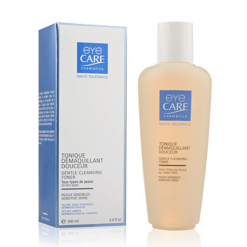Eyecare cosmetics- Gentle cleansing lotion, Gentle cleansing toner, Gentle nutritive skincare