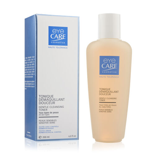 Eyecare cosmetics- Gentle cleansing lotion, Gentle cleansing toner, Balancing skincare