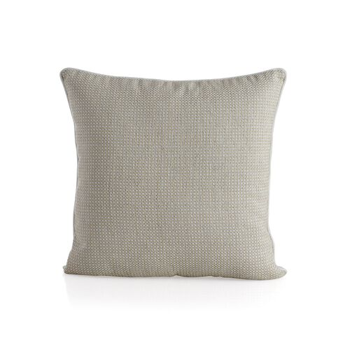Dotted Pattern Champagne Colour Cushion (Size 43x43 Cm)