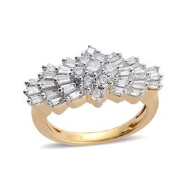 ILIANA 18K Y Gold IGI Certified Diamond (Rnd) (VS-SI/G-H) Ring 1.000 Ct.