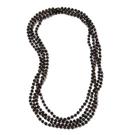 Jewels of India Brazilian Smoky Quartz Necklace (Size 100) in Silver Tone 235.130 Ct.