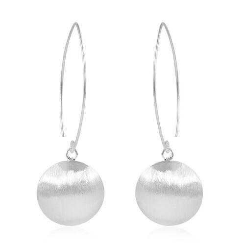 Thai Sterling Silver Hook Earrings, Silver wt 5.70 Gms.