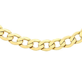Close Out Deal Italian 9K Y Gold Curb Chain (Size 20), Gold Wt 15.80 Gms.