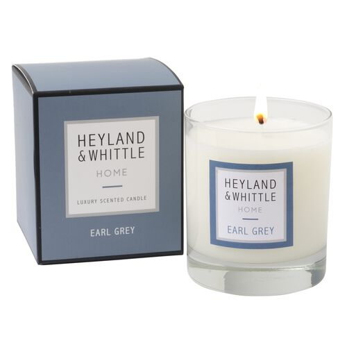Heyland and Whittle 903 Earl Grey Candle in Glass Jar 220g