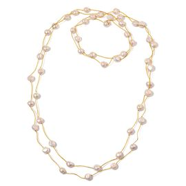 Fresh Water White Pearl Necklace (Size 100) 465.000 Ct.