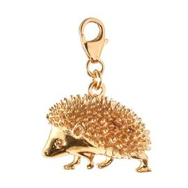 Hedgehog Charm in 14K Gold Overlay Sterling Silver, Silver wt 6.53 Gms.