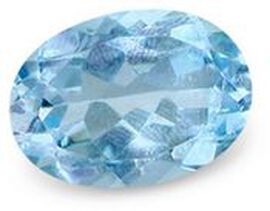 London Blue Topaz (Ovl 25x18 mm Faceted 4A) 45.000 Ct.
