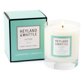 Heyland and Whittle 933 Clementine and Prosecco Candle in Glass Jar 220g