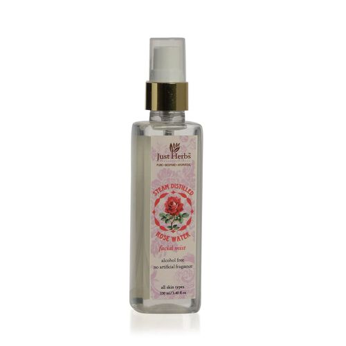 (Option 4)- Just Herbs Rose Water Spray (100 ml)