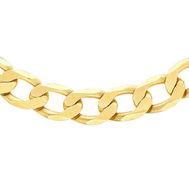 Close Out Deal Classic 1oz Italian 9K Y Gold Curb Chain (Size 20), Gold wt 32.70 Gms.