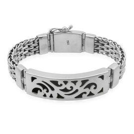 Royal Bali Collection Sterling Silver Bracelet (Size 7.5), Silver wt 58.50 Gms.
